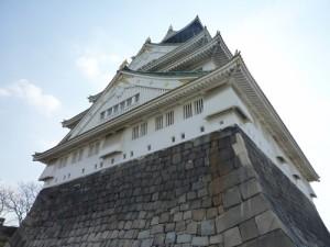 大阪城間近