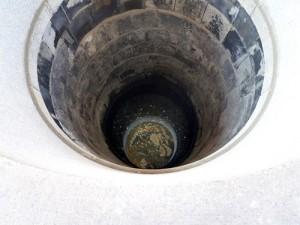 龍の井戸内部